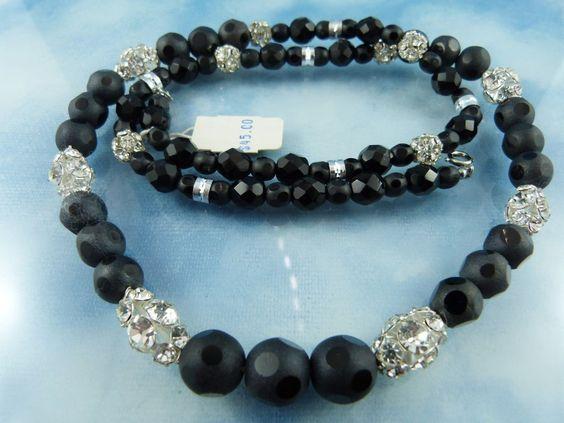 50% OFF ENTIRE SHOP: Laguna Jet Crystal Necklace Never Worn