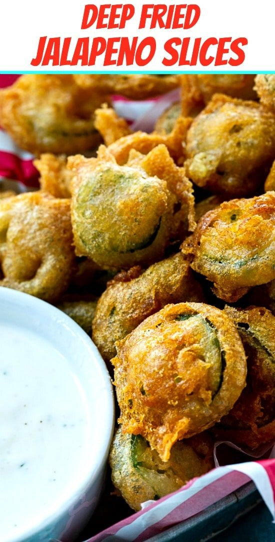 Deep Fried Jalapeno Slices Spicy Southern Kitchen Recipe Deep Fried Recipes Recipes Deep Fried Appetizers