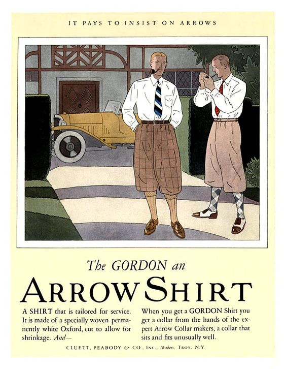 * Arrow Shirts -1922C