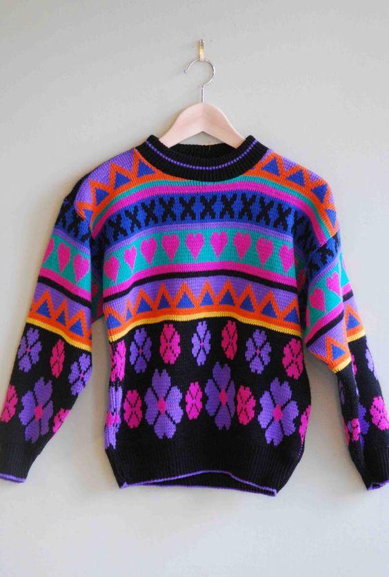90s sweater