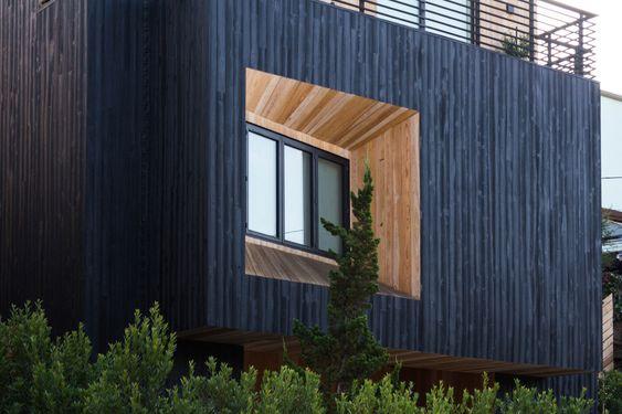 Armstrong Residence Custom Shou Sugi Ban Exterior Siding Resawn Timber Co White Exterior Houses House Exterior Cedar Cladding