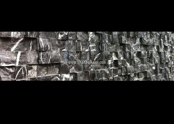 Siyah Mermer 3D Fileli Patlatma Taş Mozaik - http://www.patlatmatas.gen.tr/siyah-mermer-3d-fileli-patlatma-tas-mozaik