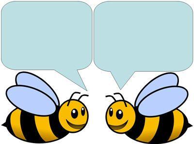 Welcome Two Bees door decorating: