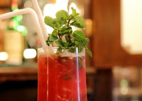 Pomegranate & Mint Margarita Recipe