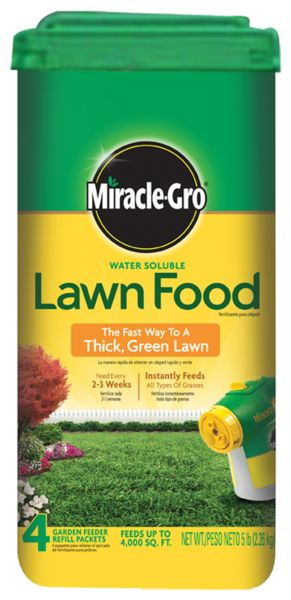 Miracle-Gro Water Soluble Lawn Food - Plant Food - Miracle-Gro