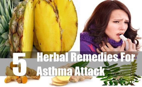 5 Herbal Remedies For Asthma Attack