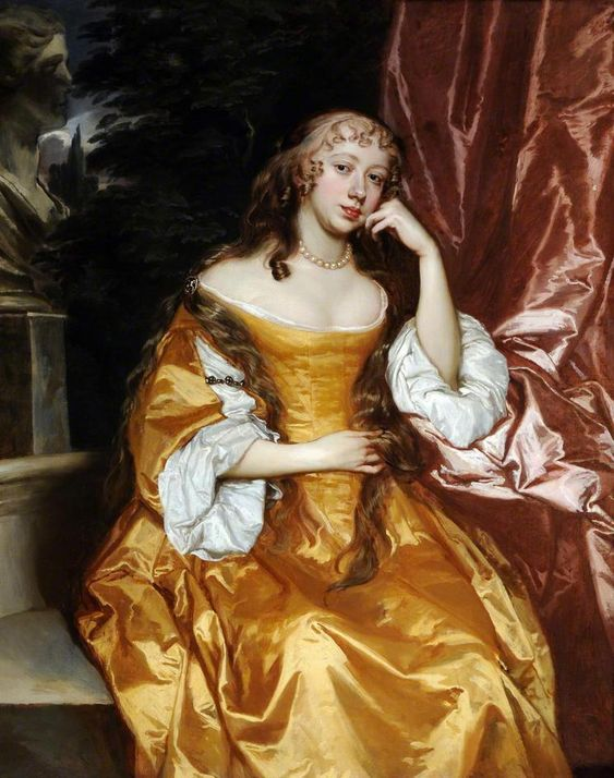 ca. 1664 Margaret Brooke, Lady Denham 1646-67 Sir Peter Lely (Sheffield Museums) from bbc.co.uk: