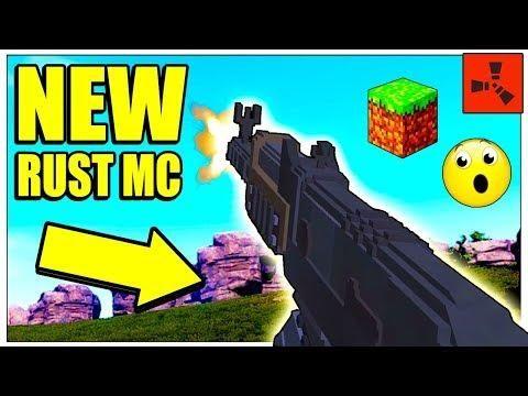Rust Mc New Rust In Minecraft Server Ip Rust Mc Gameplay Rich Raids Rust Minecraft Update 2018 Minecraft Server Raid