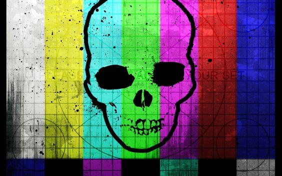 skull wallpaper desktop background imagem caveira5
