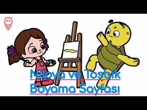 Niloya Ve Tosbik Boyama Ve Cizim Sayfasi Cocuklar Icin Nasil Yapilir Youtube Boyama Video Boyamasayfasi Coloringpage Boy Cizim Boyama Kitaplari Videolar