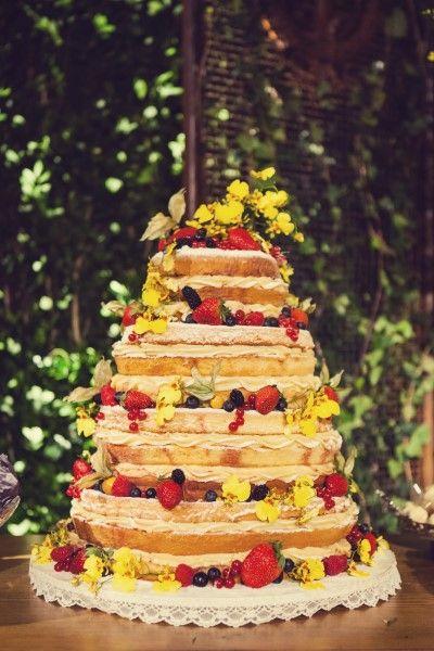 Naked cake por Le Petit Sucrée - Foto Dueto Fotografia