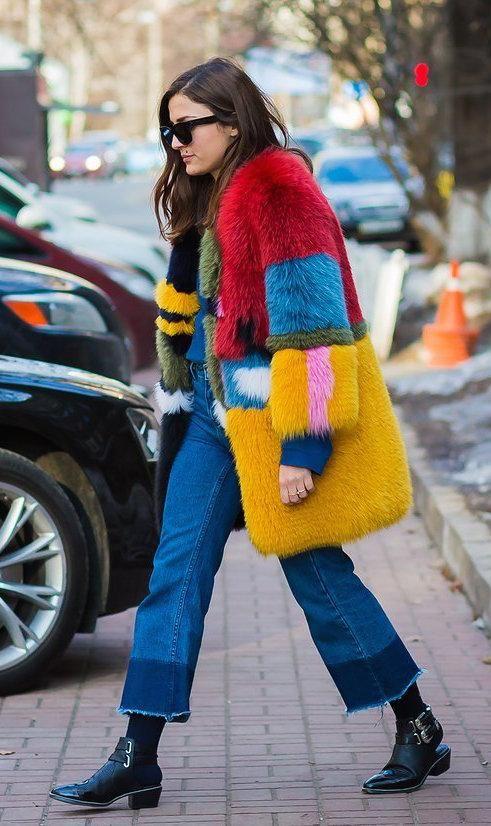 The top street style looks from Kiev Fashion Week