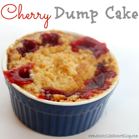 Cherry dump cake different types cherries and different for Different types of cakes recipes with pictures