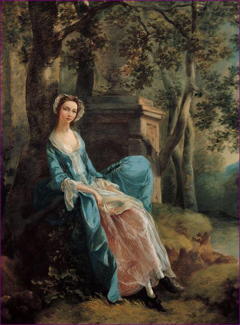 Thomas Gainsborough - Portrait of a woman