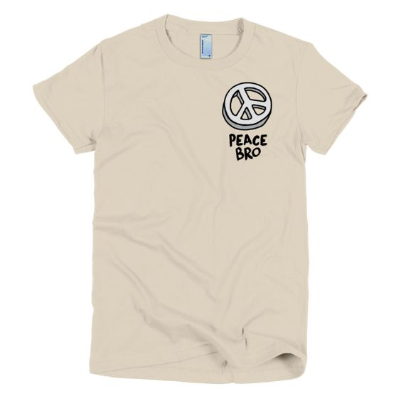 Women's Peace Bro Top