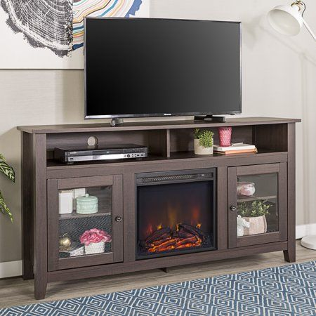 Home In 2019 Fireplace Tv Stand Tall Fireplace Tv Stand Console