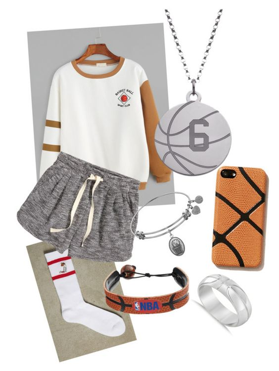 """Basketball"" by gigibramos on Polyvore featuring WithChic, 21 Men, H&M, GameWear, Understated Leather and Allurez"