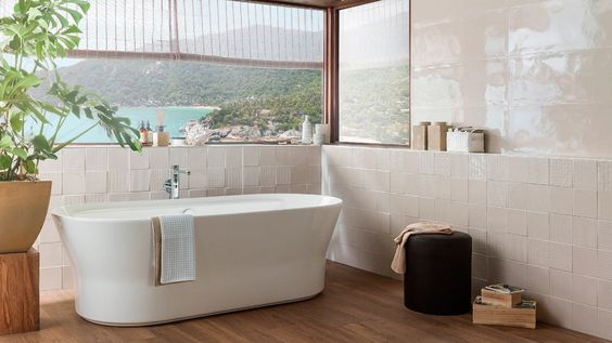 3D Tiles for Bathroom - PORCELANOSA TrendBook