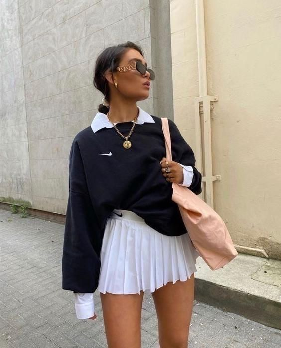 Lamissebilal In 2020 Fashion Inspo Outfits Streetwear Fashion Tennis Skirt Outfit