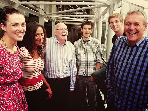 LOVE the Merlin cast