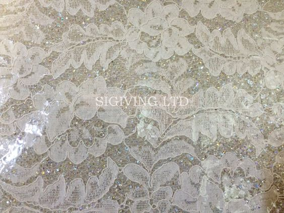 Hot Fix Lace trimming with crystal stone and beading,it is fashion for handbag or evening dress.