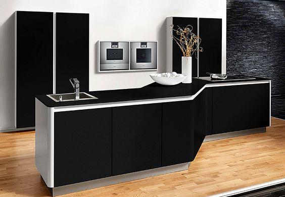 Black & white kitchens   Kitchen Design Trends 2016-17 - Interiorzine