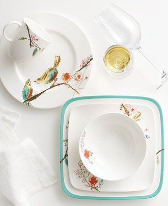 Make every meal sing with Lenox's Chirp Collection