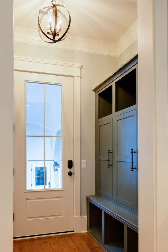 Back Doors Doors And Mudroom Cabinets On Pinterest