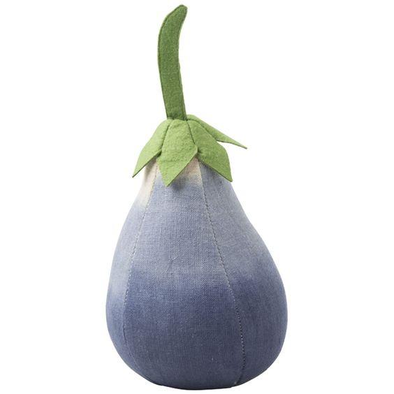 Eggplant door drop