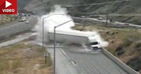 This Is Why Runaway Truck Ramps Are So Important #Accidents #Offbeat_News