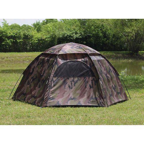 Texsport 3 Person Hexagon Dome Tent
