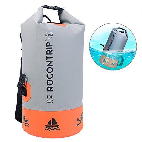 Rocontrip Dry Bag Sack Ultra Durable Pvc Roll Top Waterproof Dry Storage Bag Backpack For Kayaking Canoeing Swimming Fishin Waterproof Dry Bag Dry Bag Sack Bag