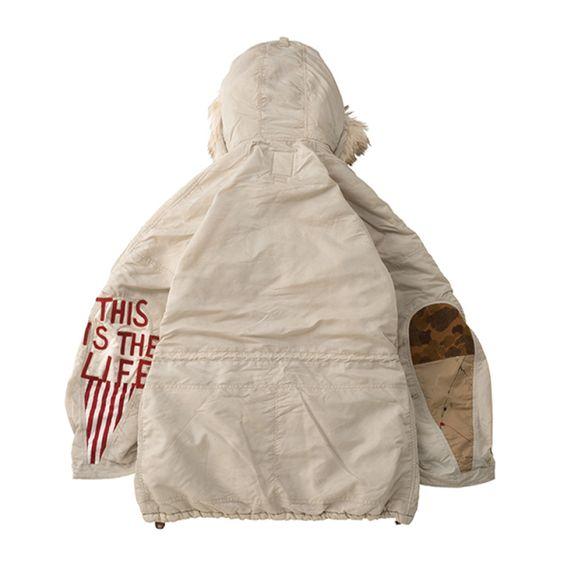 キムタクがアルバムのジャケットで着用しているモッズコート[visvim] ビズビム 2019AW VALDEZ COAT COLLAGE