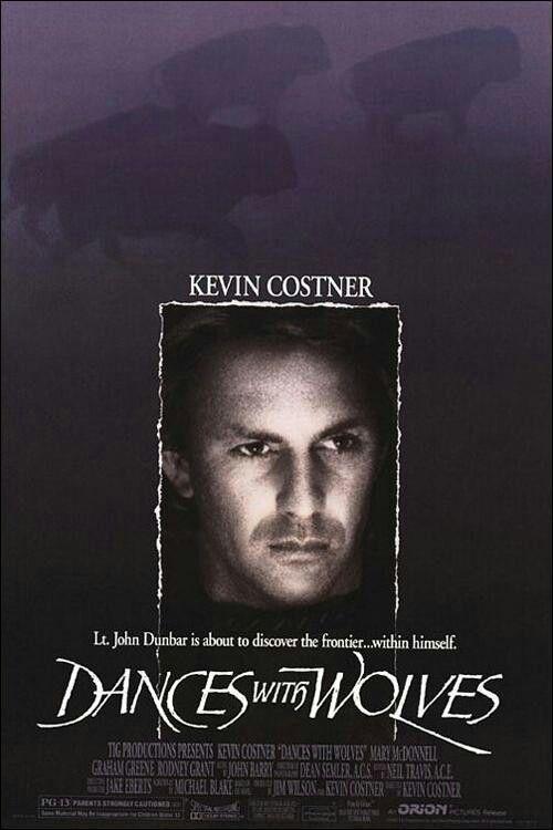 Bailando Con Lobos Dances With Wolves Wolf Movie Kevin Costner