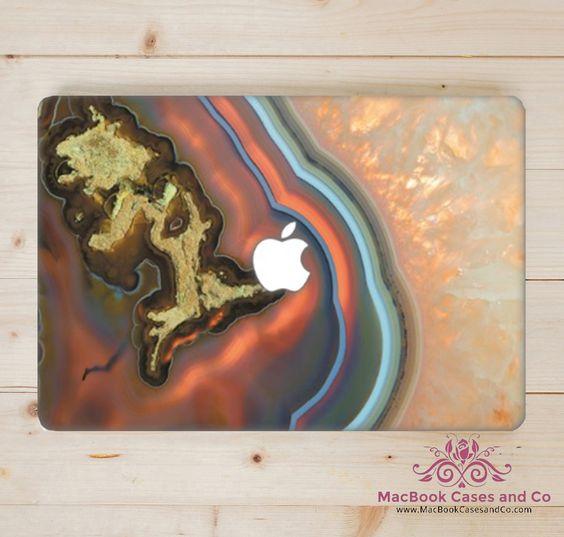 Marble Agate. MacBook Skin. Laptop Skin. by MacBookCasesandCo on Etsy