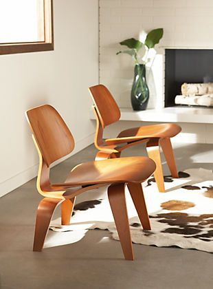 | CHAIR DU JOUR #09| Charles and Ray Eames - LCW (Lounge Chair Wood):