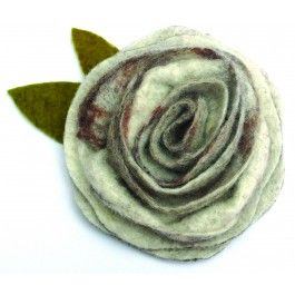 The perfect finishing touch to almost any outfit, these felt rose corsages are now available as a kit!