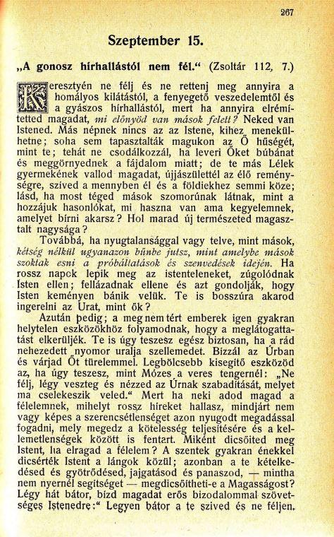 09.15. Spurgeon: Harmatgyöngyök...