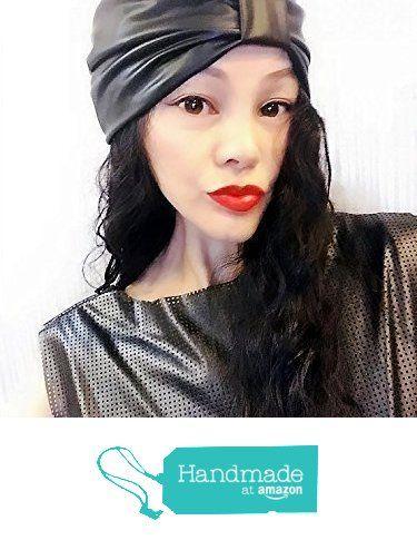 Black PU Leather Block Turban,Womens Turban,Full Turban,Turban Headband,Turban Hat,Stretch Turban,Fashion Turban,Head Wrap,Scarf,Headband,Hipster, Fashion, Gift, Show, Party, Holiday from ENOCHER https://www.amazon.com/dp/B01FMLUW86/ref=hnd_sw_r_pi_awdo_vTjHyb376MPYV #handmadeatamazon