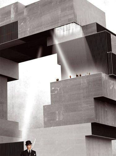 Hamburg Science Center / Rem Koolhaas, OMA / proposal 2008 #arquitectura #oma #rem koolhaas