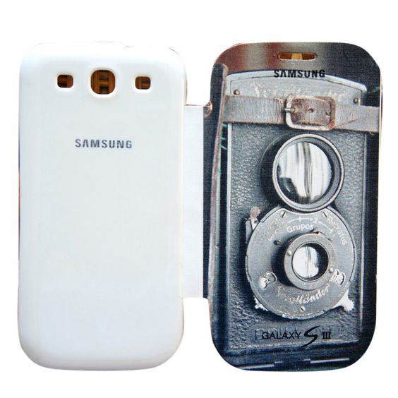 Samsung Vintage Camera Flip Case Found on Klip