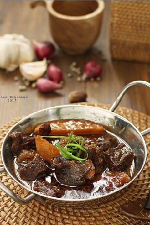 Semur Daging Sapi Kentang : semur, daging, kentang, RESEP, SEMUR, DAGING, EMPUK,, NIKMAT, Food,, Beef,