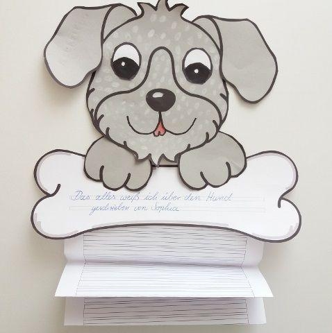 Hunde Basteln Bastelvorlage Fensterbild Arbeitsblatt Bastelvorlage Unterrichtsmaterial In Den Fachern Fachubergreifendes Kunst Basteln Hund Basteln Schultute Basteln