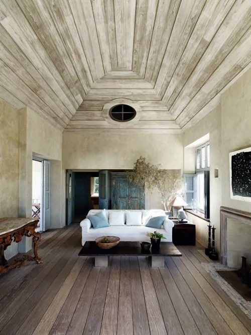 Wood Floor And Ceiling Balcony Wood Flooring Walls Ceiling Modern