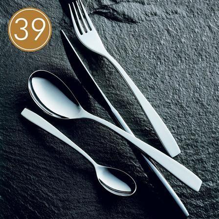 Mepra Stainless Steel Cutlery Set 39 Pieces Vita, $240 !!