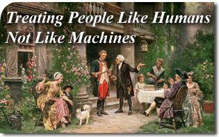 Organic Society: Treating People Like Humans Not Like Machines