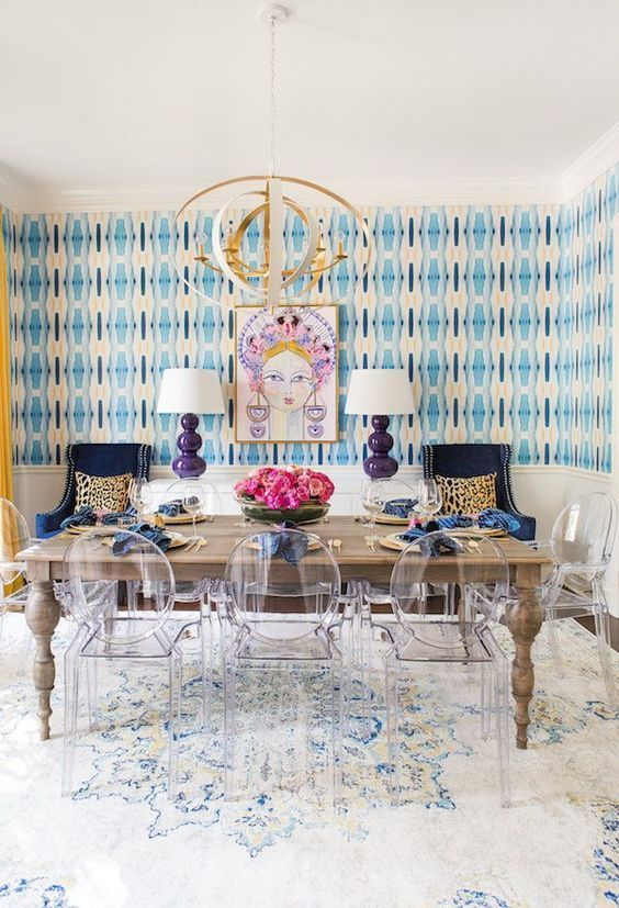 Account Suspended Dining Room Wallpaper Ghost Chair Dining Room Dining Room Decor