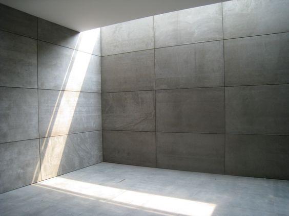 Fiber Cement Board - fiber cement board5 - Sinoceiling Co.,Ltd Auch Beton kann interessant aussehen.