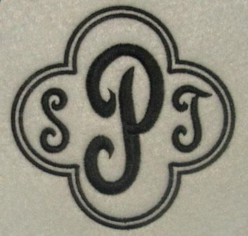 Quatrefoil Border Frame Embroidery Designs | Apex Embroidery Designs, Monogram Fonts & Alphabets  1.99 for 6 frame sizes