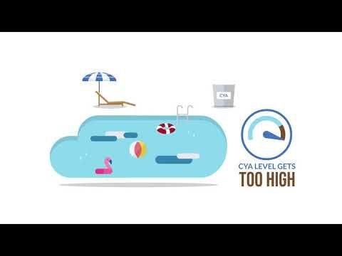 Chlorine X2f Cya Chart Trouble Free Pool Trouble Free Pool Pool Care Free Pool Spa Pool